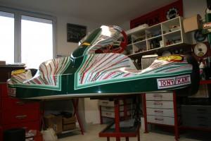 chassis tonykart